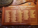 Lands Administration Department Honour Board