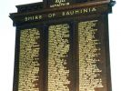 Shire of Bauhinia Roll of Honour