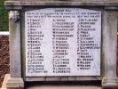 Granville War Memorial (Digger) - Roll of Honour