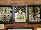 Wharf Street Congregational Church 1914-1919 Roll of Honour - Memorial originally the front of a communion table