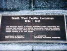 ANZAC Square South-West Pacific Memorial - Plaque