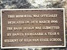 Kilkivan War Memorial - Plaque2