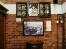 Wall of Merrington Memorial Peace Chapel displaying Wharf Street Roll of Honour