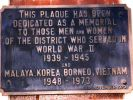 Yeronga Stephens Shire Memorial Gates - Plaque
