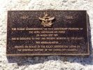 Cairns RAAF Memorial - plaque