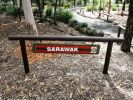 RAR Memorial Walkway - Sarawak commemorative plaques