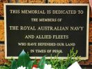 Toowoomba Naval Memorial - Plaque