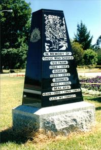 Warwick Asian Wars Memorial