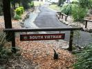 RAR Memorial Walkway - South Vietnam commemorative plaques