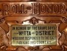 Witta and District Roll of Honour (2011)