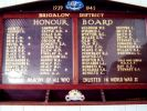 Brigalow Memorial Hall Honour Board - 2009