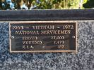 Plaque, National Servicemen Vietnam