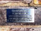 Windsor WWII and Later Conflicts Memorial - small dedication plaque