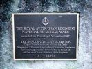 RAR Memorial Walkway - Dedication stone plaque