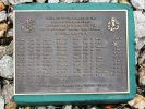 Royal Australian Regiment Unit Plaques (Memorial Walk) - AATTV Roll of Honour plaque