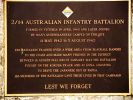 2/14 Australian Infantry Battalion Memorial