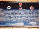 Caboolture 25th Brigade Memorial Plaque