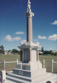 Booval/Silkstone/Newtown War Memorial