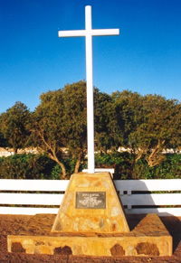 Charters Towers Cemetery Memorial Cross