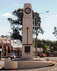 Goomeri War Memorial Clock Tower