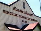 Kumbia and District Memorial School of Arts - front entrance