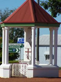 Hughenden District Soldiers Memorial Rotunda
