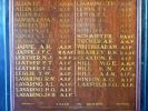 Boolboonda and District 1939–1945 Roll of Honour - names detail
