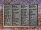 New Farm Sandakan War Memorial - Roll of Honour plaque