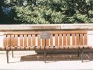 ANZAC Square Memorial Bench Plaques