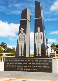 Gympie Normanby Hill Remembrance Park Memorial