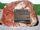 Cunnamulla Memorial Fountain - Dedication plaque